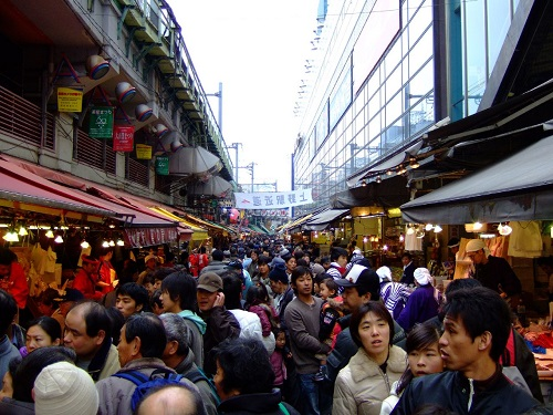 Ameyoko by Ghost of Kuji. Creative Commons Licence.