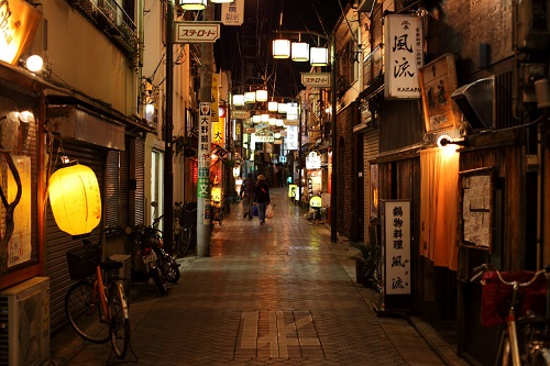 Street at Night. Photo Credit.