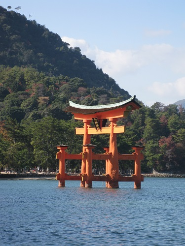Miyajima Torii Close Up View