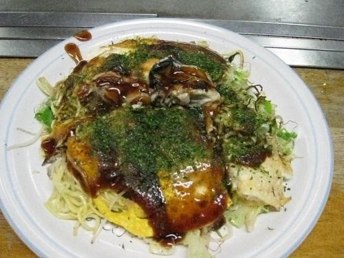 Okonomiyaki dinner
