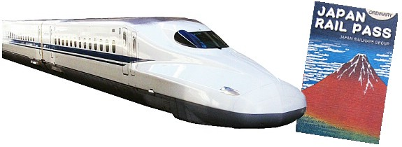 Shinkansen (Bullet Train and JR Rail Pass. Photo Credit: About-Japan.com website