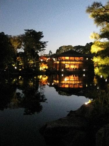 Tokugawa Museum Garden Night View