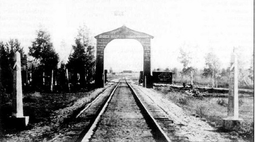 The Red Gate: the Russain Latvian Border Crossing 1920s