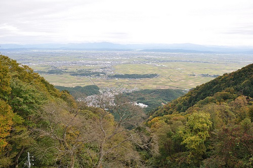 Simon Pasco Photo  used under Creative Commons License. View over Niigata-ken plains