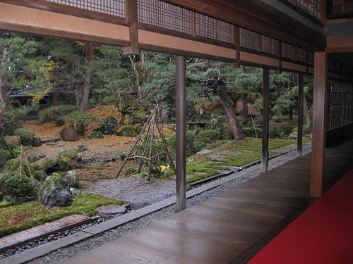 Garden view from the veranda of the Ito Estate