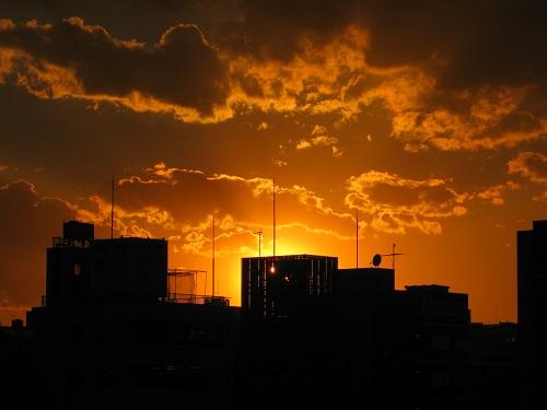 Tokyo Sunset from Asakusa