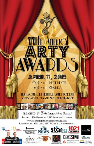 Arty Awards Poster