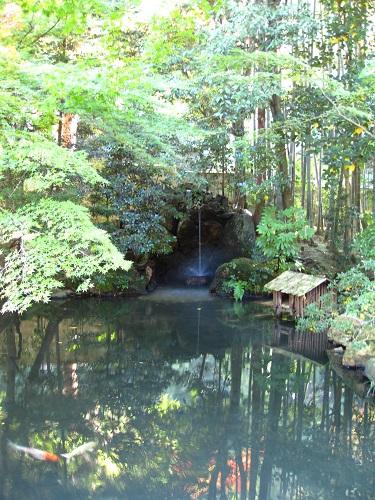 A waterfall at Nanzenji