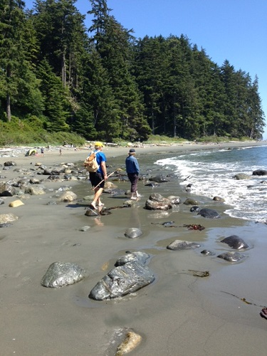 Walking on China Beach