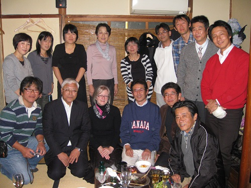 With friends in Toyohashi 2010