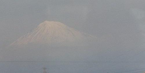 Fuji from the Shinkansen 1998 LGPhoto
