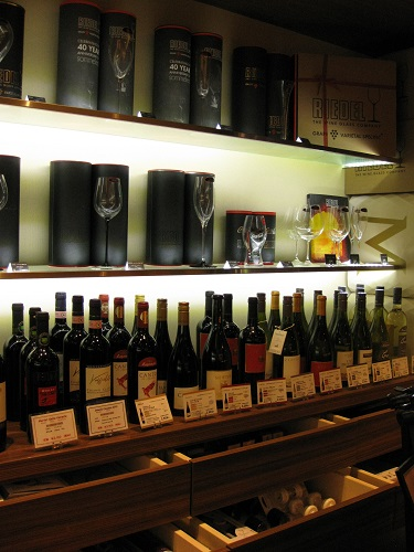 Inside Champagne Boutique YUHI